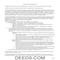 Daniels County Gift Deed Guide Page 1