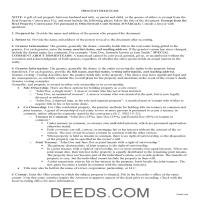 Williams County Gift Deed Guide Page 1