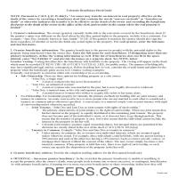 Las Animas County Beneficiary Deed Guide Page 1