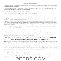 Miami County Lis Pendens Guide Page 1