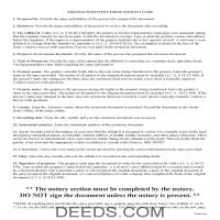 Ouachita County Correction Deed Guide Page 1