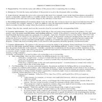 Apache County Correction Deed Guide Page 1