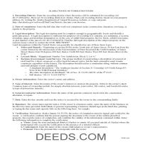 Wade Hampton Borough Notice of Completion Guide Page 1