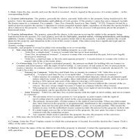 Brooke County Gift Deed Guide Page 1