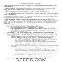 Doddridge County Trustee Deed Guide Page 1