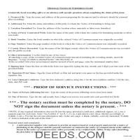 Otsego County Notice of Furnishing Guide Page 1