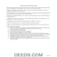 Lee County Notice to Owner Guide Page 1