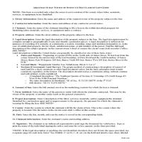 Bradley County Notice of Intent to File Guide Page 1