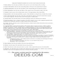 Lee County Claim of Mechanics Lien Guide Page 1