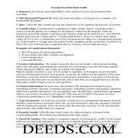 Jeff Davis County Easement Deed Guide Page 1