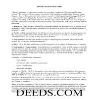 Hawaii County Easement Deed Guide Page 1