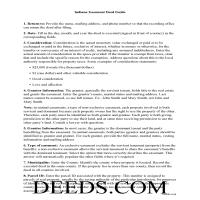 Posey County Easement Deed Guide Page 1