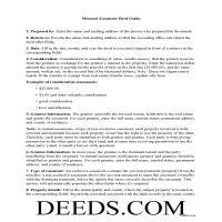 Gasconade County Easement Deed Guide Page