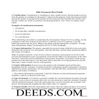 Hamilton County Easement Deed Guide Page