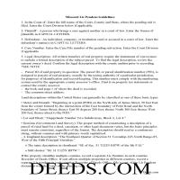 Dade County Lis Pendens Guide Page