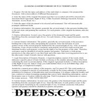 Lowndes County Guidelines for Release of Easement / Access Page 1