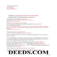 Jeff Davis County Completed Example of the Release of Easement / Access Document Page 1