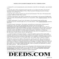 Washington County Guidelines for Release of Easement Page 1