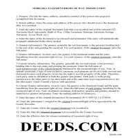 Cherry County Guidelines for Release of Easement Page 1