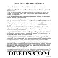 Deschutes County Guidelines for Release of Easement Page 1