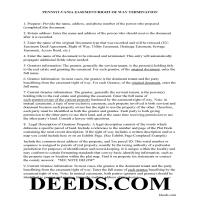 Adams County Guidelines for Release of Easement Page 1