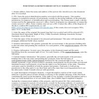Dunn County Guidelines for Release of Easement Page 1