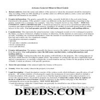 Graham County Guidelines for Mineral Deed Page 1