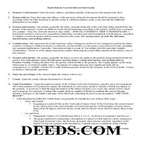 Hand County Mineral Deed Guide Page 1