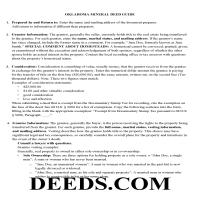 Noble County Guidelines for Mineral Deed Page 1