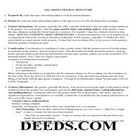 Okmulgee County Mineral Deed Guide Page 1