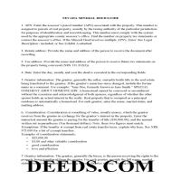Carson City Guidelines for Mineral Deed Page 1