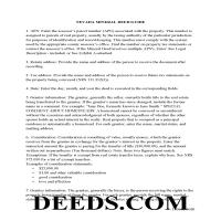 Nye County Guidelines for Mineral Deed Page 1