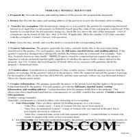 Harlan County Guidelines for Mineral Deed Page 1