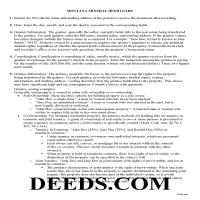 Daniels County Mineral Deed Guide Page 1