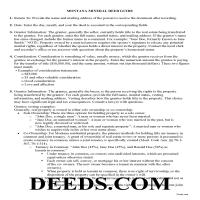 Daniels County Guidelines for Mineral Deed Page 1
