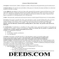 Sharp County Mineral Deed Guide Page 1