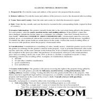 Choctaw County Mineral Deed Guide Page 1