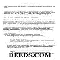 Sevier County Mineral Deed Guide Page 1