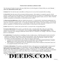 Buffalo County Mineral Deed Guide Page 1