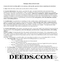 Ontonagon County Mineral Deed Guide Page 1