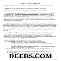 Jeff Davis County Guidelines for Mineral Deed Page 1