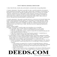 Wyoming County Guidelines for Mineral Deed Page 1