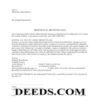 Humboldt County Deed of Full Recoveyance Page 1