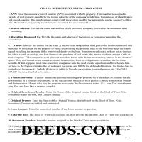 Humboldt County Guidelines for Deed of Full Reconveyance Page 1