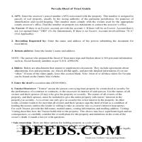 Storey County Deed of Trust Guidelines Page 1