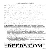 Conecuh County Guidelines for Limited Power of Attorney Page 1