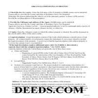 Ouachita County Limited Power of Attorney Guidelines Page 1