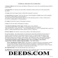 Jeff Davis County Special Power of Attorney Guidelines Page 1