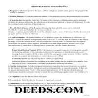 Harrison County Specific Power of Attorney Guidelines Page 1