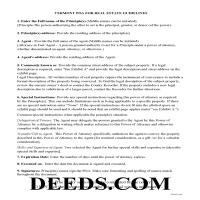 Orleans County Power of Attorney Guidelines Page 1